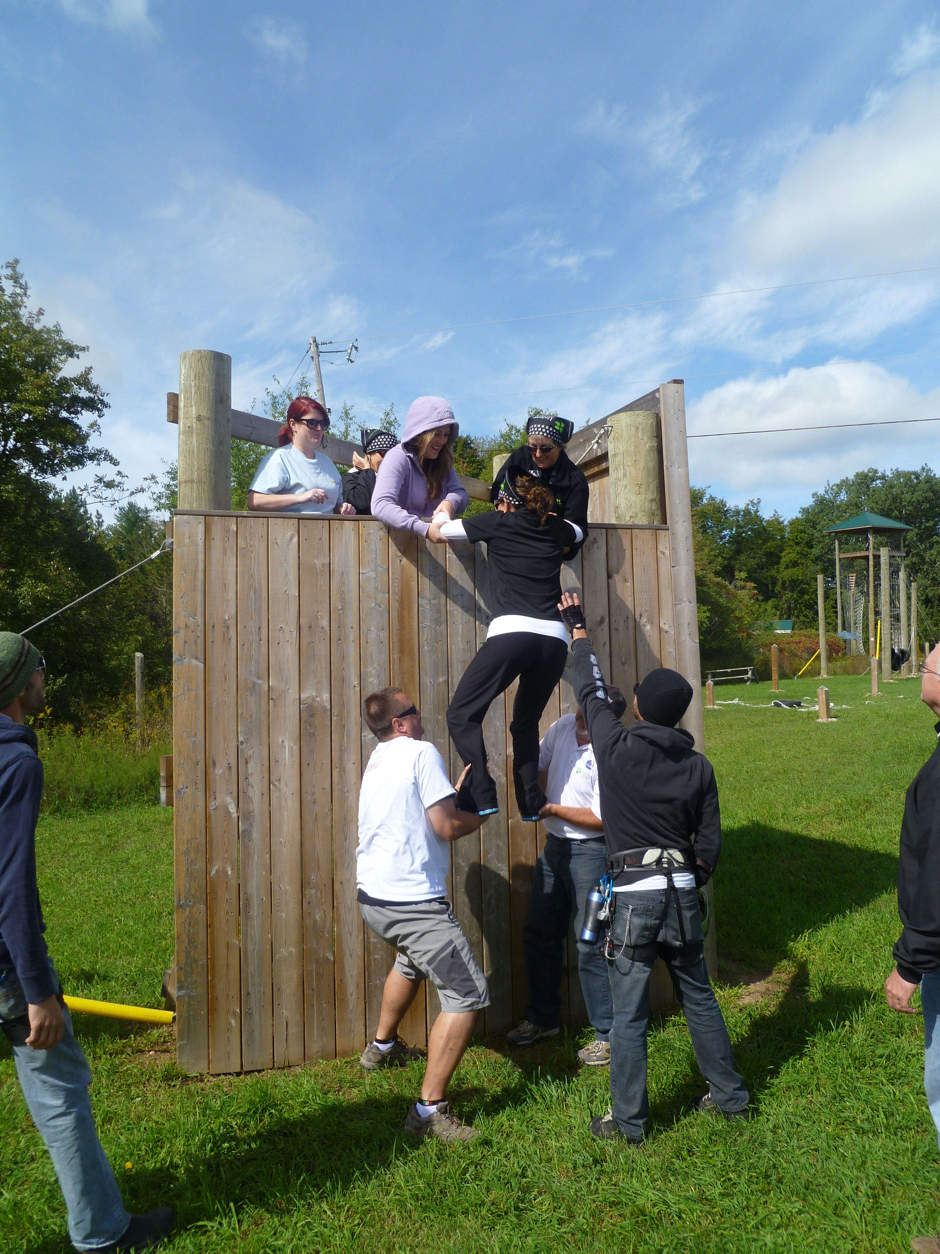Up, up and Over the Initiation Wall